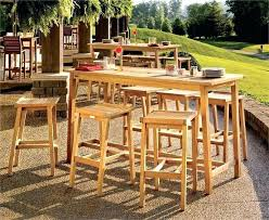 outdoor bar table and chairs. Outdoor Bar Table And Chairs Height Set Image Of Patio