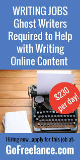 best lance writing jobs images lance  ghost writers required to help online content lance lance writing jobswriting