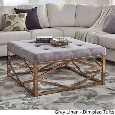 what to put on a coffee table top fabric ottoman coffee table with ottoman
