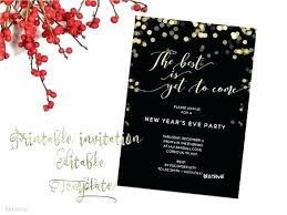 free christmas dinner invitations free holiday invitations templates minacoltd com
