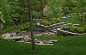 backyard staircasetraditional landscape dc metro