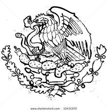 mexican flag eagle drawing. Fine Eagle Throughout Mexican Flag Eagle Drawing C