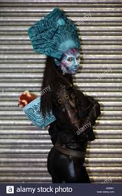 london uk 20th may 2017 make up artist magazine wele imats international make up artists trade show to london olympia showcasing the biggest name