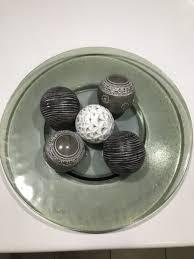Decorative Balls For Bowls Australia Glass platter and decorative balls Decorative Accessories 59