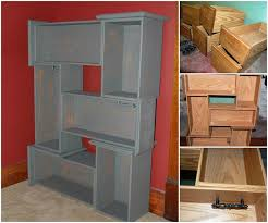 creative ideas diy repurpose old drawers into awesome shelf