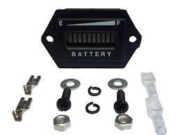 golf cart battery meter 36 volt golf cart digital led battery state of charge indicator meter