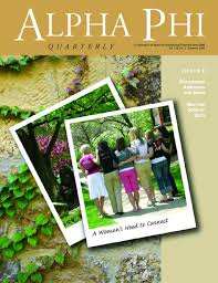 summer alpha phi quarterly by alpha phi international summer 2006 alpha phi quarterly by alpha phi international fraternity issuu
