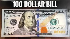 New <b>$100 Dollars Bill USA</b> - United States one <b>hundred</b>-<b>dollar note</b> ...