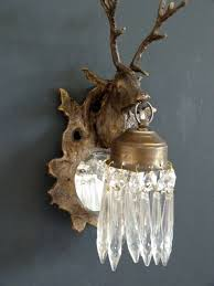 pair of stag head wall lights the vintage chandelier company the vintage chandelier company