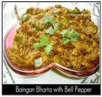 bell pepper bharta