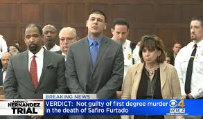 aaron hernandez not guilty of double homicide cbs news