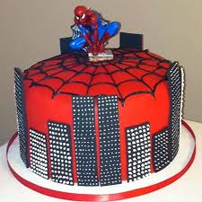 Illustrious Spiderman Cake Cakes Of Best Quality 1 Online Cake
