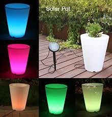 planter lighting. Solar Flower Pot Lights Led Planter Vase Lamp-garden Outdoor Yard Home Decoration Light- Lighting