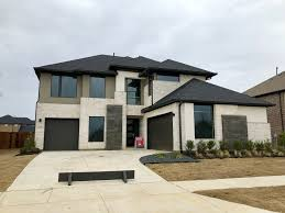 mainvue homes at windsong ranch in prosper brings the modern transitional look
