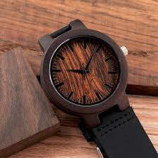 very best bobo bird wooden wrisches mens wood watch leather band wood td07