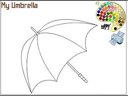 Umbrella Coloring Pages For Kids Umbrella Coloring Pages Youtube