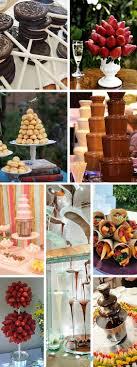unforgettable chocolate fountain ideas for weddings bringing y back