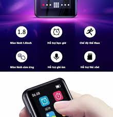 Quà tặng Thẻ nhớ Micro SD 8G ) Máy nghe nhạc MP3 Bluetooth cao cấp Ruizu M9  -