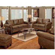 Brown leather living room furniture Goes White Wall Sams Club Sofas Sofa Sectionals Sams Club
