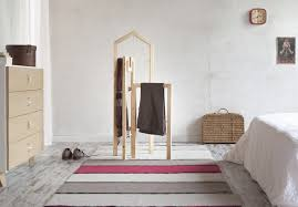 Valet Coat Rack Wooden Tusciao valet coat racks capture the shapes of the 50