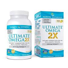 Nordic Naturals, <b>Ultimate Omega 2X</b>, 2150 mg , 120 Soft Gels ...