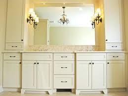 white bathroom cabinets with granite. White Bathroom Cabinets Vanity With Black Granite D