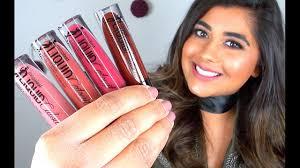 new wet n wild liquid catsuit matte lipsticks review lip swatches you