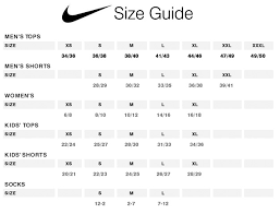 Nike Size Chart Youth Bedowntowndaytona Com