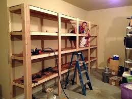 garage shelves build 5 shed shelving ideas diy how to sy