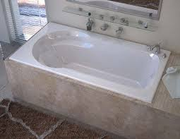 more views venzi elda 32 x 60 rectangular air jetted bathtub with right drain