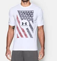 under armour american flag. men\u0027s ua usa flag t-shirt, under armour american l