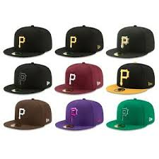 Details About Pittsburgh Pirates Pit Mlb Authentic New Era 59fifty Fitted Cap 5950 Hat