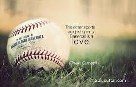 Baseball Quote Enchanting Perfect Baseball Quote Baseball Is A Love Photos And Ideas