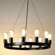retro light bulbs alternative edison bulb chandelier thomas