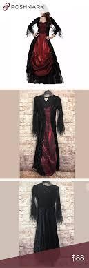 Costume Small Women Vampire Vampira Dress See Photo For