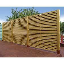 Wooden Garden Fence Panels Uk