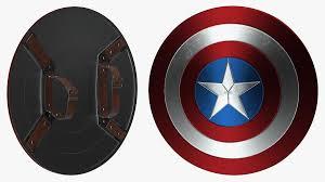 captain america shield 3d model 39