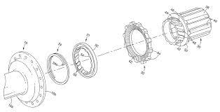 Ratchet Mechanism Design Shimano Patent Shows Silent Ring Drive Hub Internals That