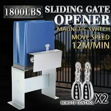 details about 1800lbs sliding gate opener door operator kit automatic electric hardware eur