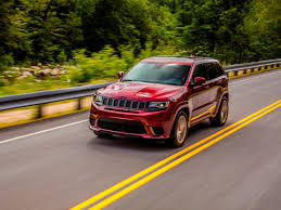 2018 jeep grand cherokee trackhawk first review