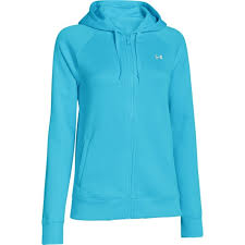 under armour zip up hoodie. under armour women storm fleece full zip hoodie (surfs up) 1248644-443 up e