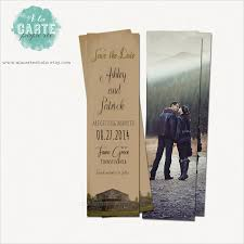 crazy invitations part  save the date bookmark template 69 psd ai eps pdf