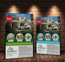 a real estate flyers bundle by designhub on a4 real estate flyers bundle by designhub719