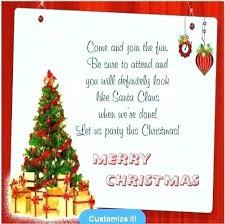 Company Holiday Party Invitation Wording Samples Of Christmas Party Invitations Bahiacruiser