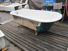 footclawfoottub painting a collection also attractive old clawfoot tub pictures case built around it for