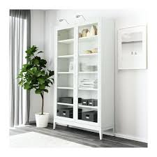 hemnes glass door cabinet white pertaining to ideas 1 with 4 drawers