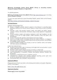 Cover Letter Mckinsey Consulting Cover Letter Mckinsey Sample Resume Management Consultant