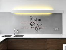 the kitchen is the heart of the home vinyl wall decals es sayings lettering letters art