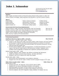 Medical Coding Resume Sample Medical Billing Resume Templates The Hakkinen