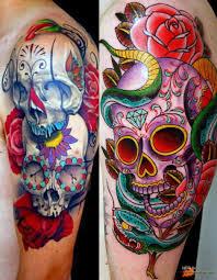 череп из цветов эскиз кинозавр